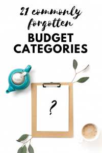 budgeting woes and some hidden expenses to remember when doing your