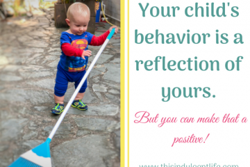 child mimics parents | children's behavior like parents | gentle parent | positive parenting | This Indulgent Life