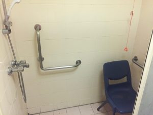 The shared bathroom in a Hong Kong Maternity Ward