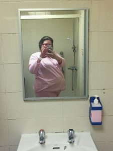 The Pink maternity outfit in hong kong public hospitals