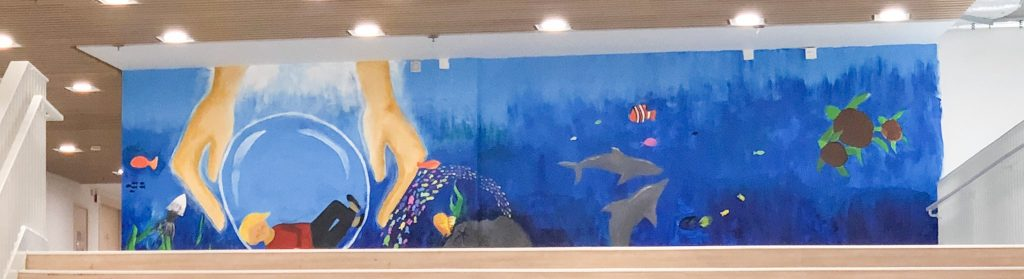This mural happened because I learned to trust my students