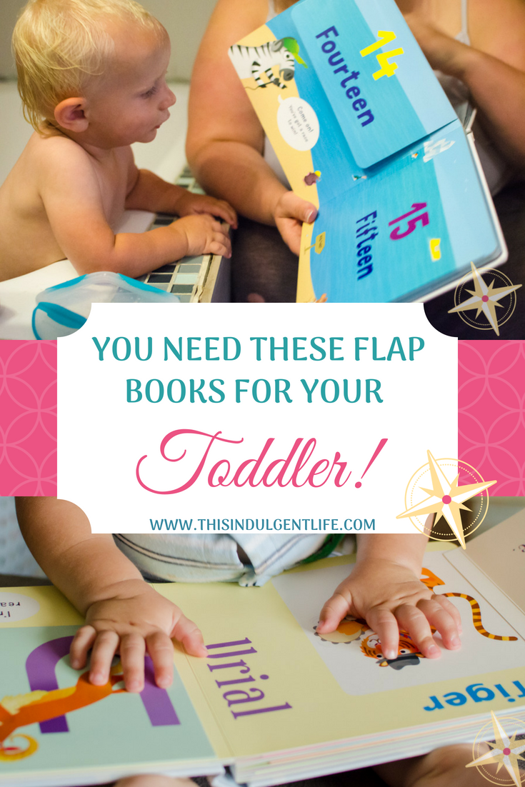 You need these flap books for your toddler | This Indulgent Life | These Peekaboo a to z and 123 books feature silly animals and fun alliterations. | #liftflapbooks #childrenbooksreview #animalbooksforkids #bookreviewsforkids #toddlerbooks #bestbooksfortoddler #childrensbooksfortoddlers #bestbooksforpreschoolers #kidsbooks #booksforpreschoolers #bestbookstolearnthealphabet #abcbooks #booksaboutanimals #interactivechildrensbooks #whimsicalchildrensbooks #educationalbooksfortoddlers