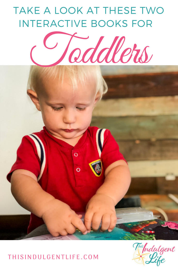 Take a Look At These Two Interactive Books Perfect For Toddlers | This Indulgent Life | On Boogie's Book Review we're looking at 2 interactive children's books featuring animals that your toddler will love. | #interactivechildrensbooks #animalbooksforkids #oceanbooksforchildren #childrensbooks #bestbooksfortoddlers #booksforpreschoolers #feltbooks #interactivebooks