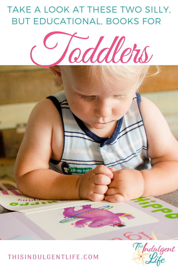 Take a look at these two silly but educational books for toddlers | This Indulgent Life | These Peekaboo a to z and 123 books feature silly animals and fun alliterations. | #liftflapbooks #childrenbooksreview #animalbooksforkids #bookreviewsforkids #toddlerbooks #bestbooksfortoddler #childrensbooksfortoddlers #bestbooksforpreschoolers #kidsbooks #booksforpreschoolers #bestbookstolearnthealphabet #abcbooks #booksaboutanimals #interactivechildrensbooks #whimsicalchildrensbooks #educationalbooksfortoddlers