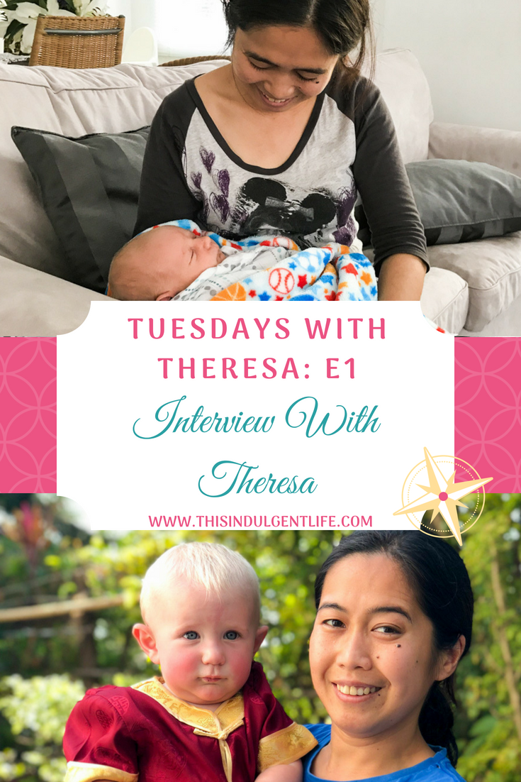 tuesdays with theresa e1 interview with Theresa | This Indulgent Life | On the first episode of Tuesdays With Theresa we interview our domestic helper and learn what makes her tick! | #thisexpatlife #thisadventurouslife #domestichelper #hongkong #childcare #expat #expatlife #expatwithkids #interviews #theresa #Filipina #Philippines #tuesdayswiththeresa #teachingabroad #livingabroad #lifewithatoddler #lifewithababy #lifeofadomestichelper