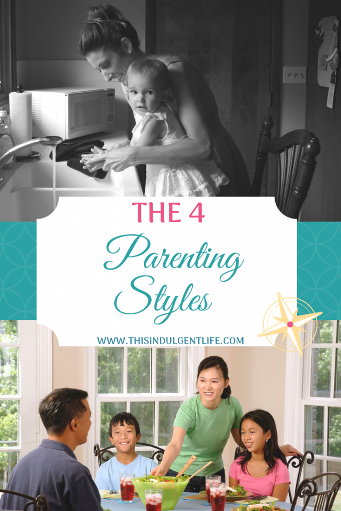 The 4 Parenting Styles | This Indulgent Life | There are pros and cons to each parenting style you can use while raising your children. Learn how to identify each and what the positive and negative outcomes are for each so you can better reach your parenting goals. Go to www.thisindulgentlife.com/identify-4-parenting-styles to see the full breakdown of the pros and cons of each parenting styles. | #parentingstyle #howtobeagoodparent #gentleparenting #discipline #parentingideas #parentinggoals