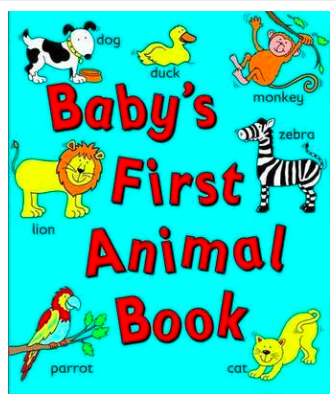 Baby's First Animal Book