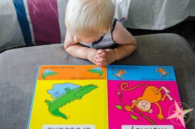 Baby's first animals book