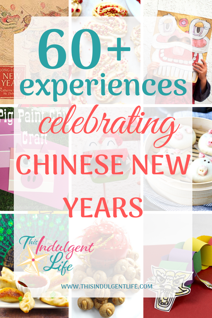 60 Experiences Celebrating Chinese New Years | This Indulgent Life | Looking for ways to celebrate Chinese New Year with your family? Here are over 60 experiences and recipes you can have with your family. | #chinesenewyearscrafts #cnycrafts #redenvelopecrafts #dragoncrafts #pigcrafts #chineserecipes #yearofthepig #lionmask #liondance #springfestival #craftsforkids #preschoolcrafts #lessonsonchina #chineseculture #ChineseNewyear