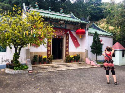 Temple near the Shaolin cul