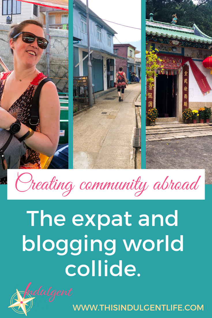 Creating Community Abroad: The Expat and Blogging World Collide | This Indulgent Life | Even though we'd never met face to face we have being an expat and being bloggers in common and that's how you start to build a community far away from home. We finally got to meet in person and I got to show off my home in Tai O, Hong Kong while we discuss the similarities and differences between Hong Kong and Japan. | #hongkongvsjapan #expatblogger #travelblog #expatlife #expatfamily #expathongkong #expatjapan #americanexpat #bloggingcommunity #expatcommunity #makingfriendsabroad #expatliving #taiohongkong #fishingvillagehongkong #sharkfintrade #hongkonglife #hongkongfood #buddhisttemples #shaolin