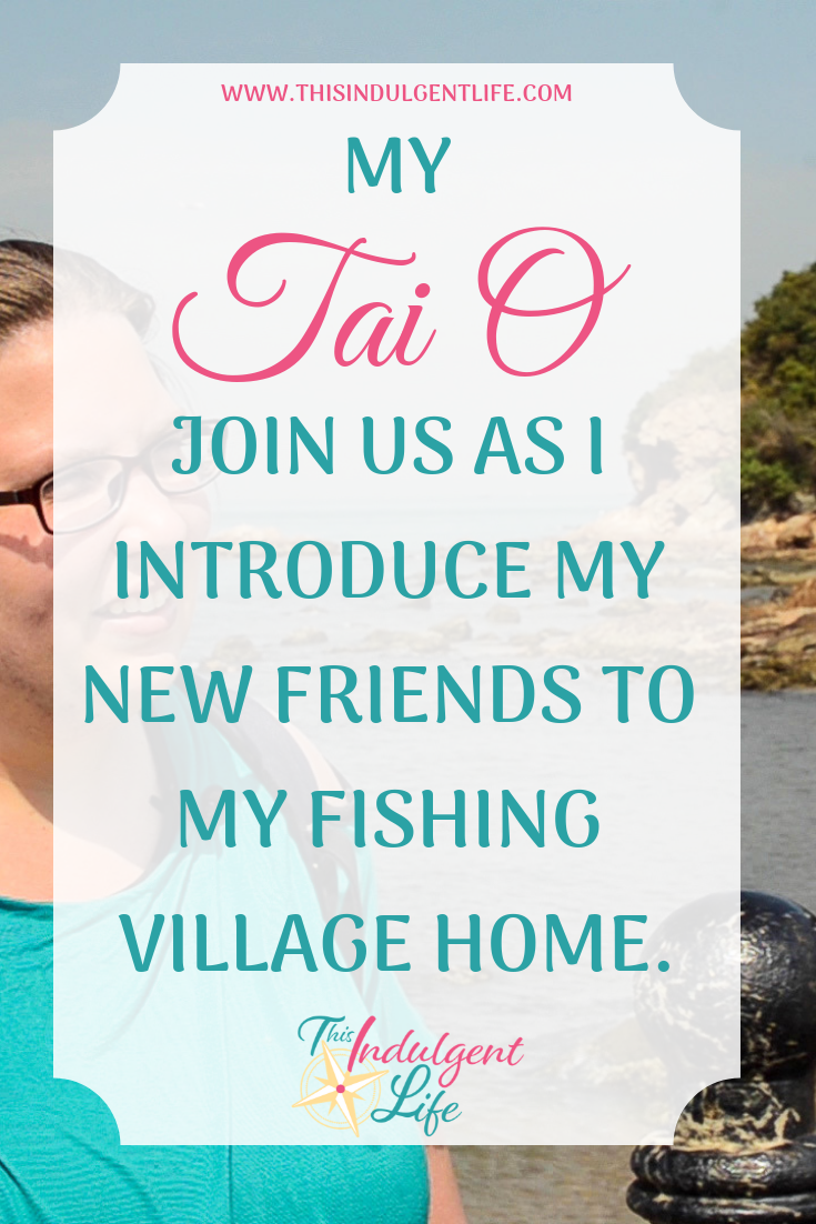 My Tai O: Join us as I introduce my new expat friends from Japan to my fishing village home | This Indulgent Life | When your home is an authentic fishing village in Hong Kong, your home is a tourist destination! This weekend we met with Kristen from Kristen Abroad and her friend Nate so we could finally meet in person and I could show off my home! | #expatlife #expatfamily #expathongkong #expatjapan #americanexpat #bloggingcommunity #expatcommunity #makingfriendsabroad #expatliving #taiohongkong #fishingvillagehongkong #sharkfintrade #hongkonglife #hongkongfood #buddhisttemples #shaolin