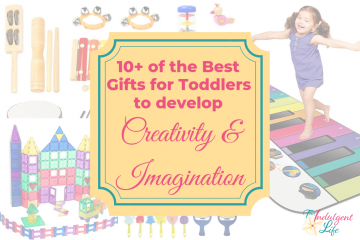 10+ of the Best Gifts for Toddlers to Develop Creativity and Imagination featured image | This Indulgent Life | Toddler gifts, developing creativity in toddlers, Developing imagination, birthday gifts for toddlers, christmas gifts for toddlers, best birthday presents