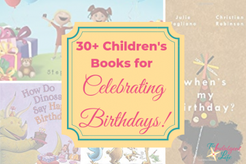 30+ Children's Books about Birthdays