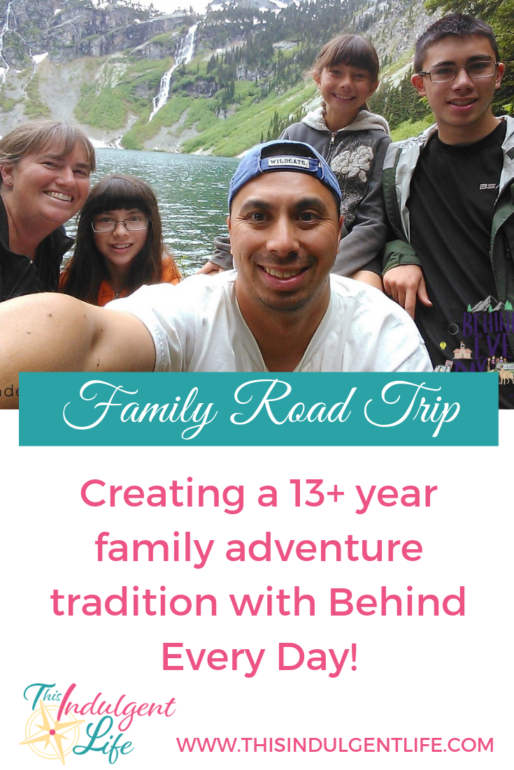 Family Road Trip- Creating a 13 Road Trip Family Adventure Tradition with Behind Every Day | On the family travel podcast I interviewed Sheila about how a crazy idea about driving across the country with toddlers became a 13 year tradition and how it has changed over the years. | #familyadventures #familyroadtrip #familytraditions #travelingfamilies #cartrips #familytraveladvice #travelwithtoddlers #travelwithteens #travelpodcast