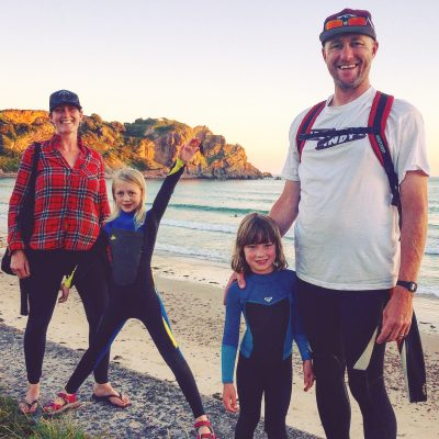 The Family Freestylers Podcast Interview at the beach