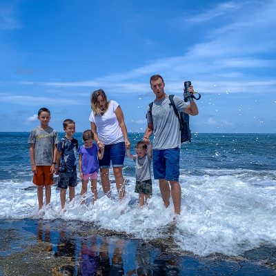 How to travel with a large family with Our Squad Abroad
