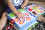 Little Bean's Toy Chest quiet time book