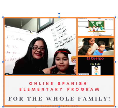 Online spanish program for the whole family
