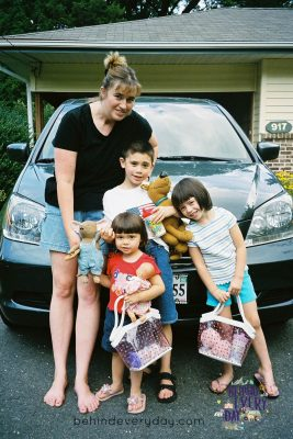 Sheila from Behind Every Day on taking a family trip without her husband