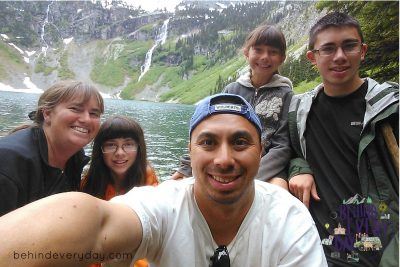 Sheila from Behind Every Day on creating memories by taking a family road trip