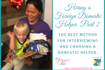 The Best Method For Interviewing Foreign Domestic Helper | #hiringhelpers #foreigndomestichelper #interviewingtipsforemployers #hiringahelperinhongkong #hongkong #expatliving #expattips