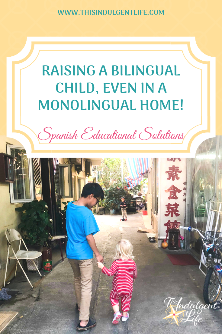 Raising a Bilingual Child, Even in a Monolingual Home! An interview with Spanish Educational Solutions on the benefits of helping your child become bilingual and how it will help improve your family travel experiences. | #raisingbilingualkids #bilingualism #monolingualism #familytravel #culturaltravel #immersionlearning #languageimmersion #learningalanguage #benefitsofbeingbilingual #languagetravel