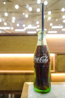 vintage cola in hong kong at yum cha