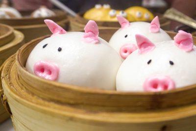 Piggy Pork Bun at Let's Yum Cha
