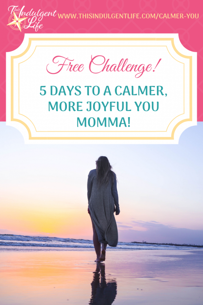 Free Challenge! 5 Days To A Calmer, More Joyful You! End the overwhelm and anger and regain control of your emotions and life! ~ #gentleparenting #calmmom #emotionalcontrol #emotionalregulation #overcomingoverwhelm #momlife #parentingtips #anger