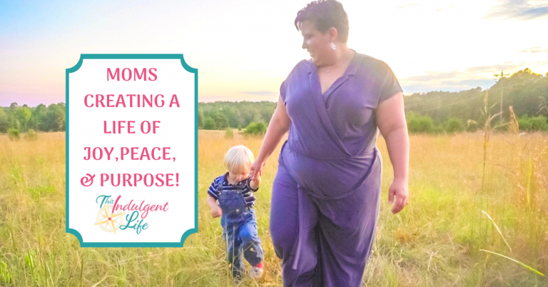 Moms creating a life of joy, peace, and purpose