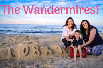 This family of 3, known as the Wandermires, took 3.5 months to sell all their belongings, move into an Airstream, and begin traveling the country while homeschooling their son!
