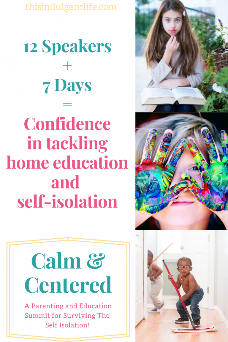 12 Speakers + 7 Days = confidence in tackling home education and self-isolation! Join the Calm and Centered parenting and education summit for dealing with being home because of the Coronavirus #coronavirusactivities #self-isolation #parentinghelp #homeeducation #stayingcalm