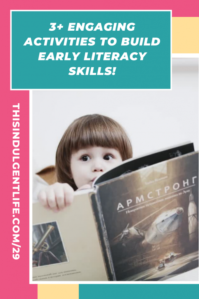 Tired of boring worksheets? Here are  some multi-sensory and kinesthetic activities to help develop language and build early literacy skills. From Speech Language Pathologist, Denise Wagstaff during the Calm & Centered Parenting and Education Summit | #earlyliteracy #developinglanguage #speechmilestones #speechgames #buildingvocabulary #phonologicalawareness #dyslexia