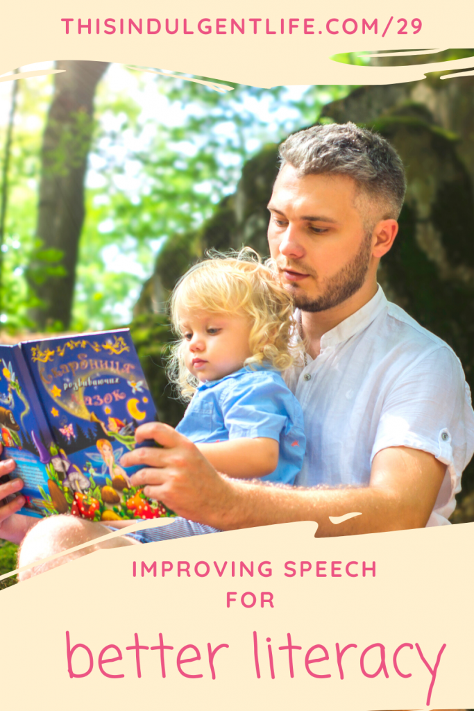 Give your child the step up they need in learning to read and write by making sure they have hit these speech and language milestones. From Speech Language Pathologist, Denise Wagstaff during the Calm & Centered Parenting and Education Summit | #earlyliteracy #developinglanguage #speechmilestones #speechgames #buildingvocabulary #phonologicalawareness #dyslexia